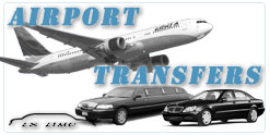 Orange County Airport Transfers and airport shuttles
