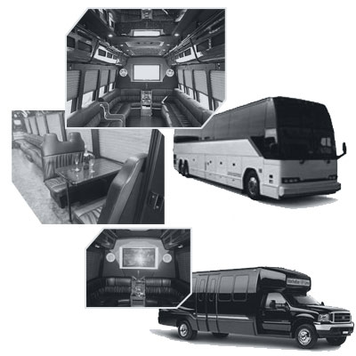 Party Bus rental and Limobus rental in Orange County, CA