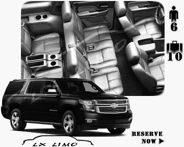 SUV Suburban for hire in Orange County