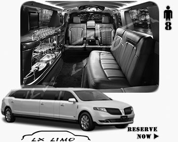 Stretch Wedding Limo for hire in Orange County, ON, Canada
