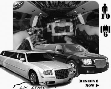Chrysler 300 Limo for wedding